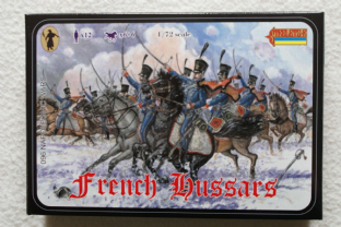 Strelets 1/72 ST0096 French Hussars (Napoleonic)